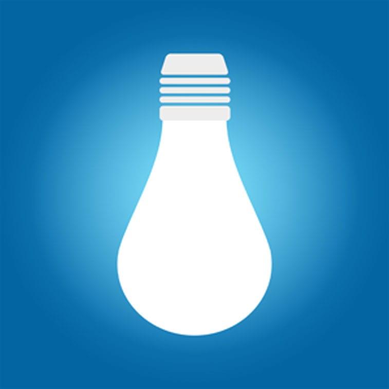 Lightbulb, energy savings