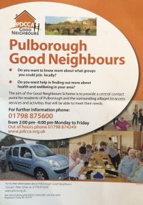 Pulborough good neighhbours poster