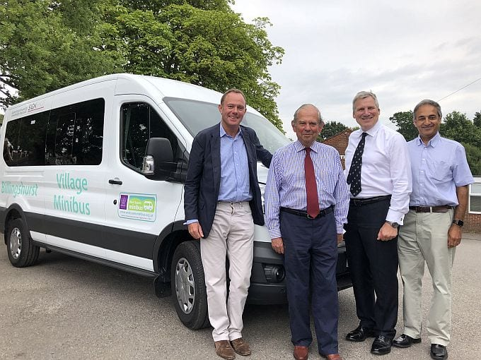 Nick Herbert, Community Minibus, West Sussex
