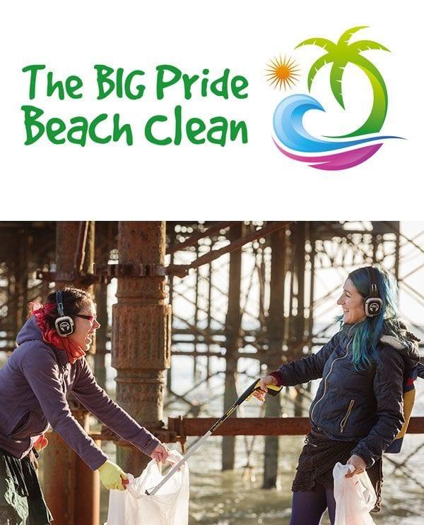 The Big Pride Beach Clean
