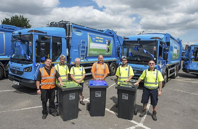 Worthing and Adur Council New Waste TRuck Fleet Launch