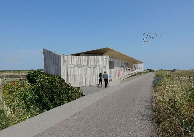Artists impression of proposed Discovery Centre
