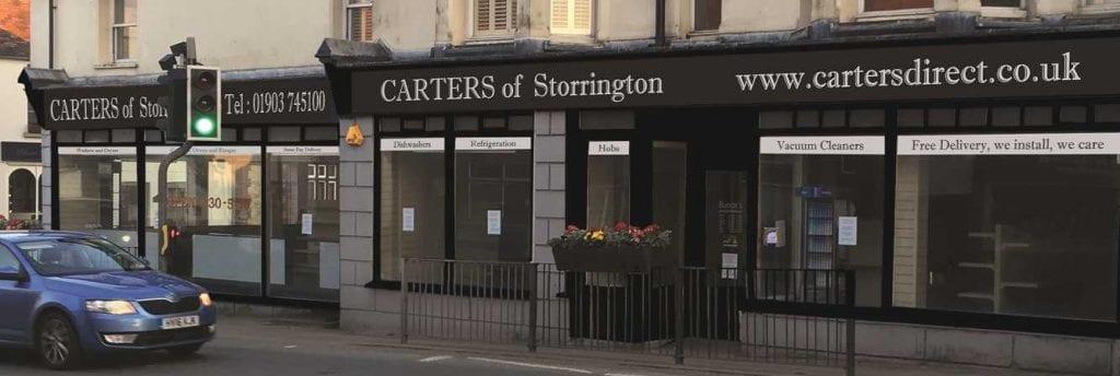 Carters of Storrington new store