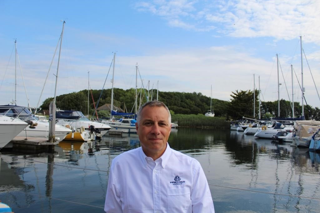 Captain Paul Cook new Chichester Marina Manager