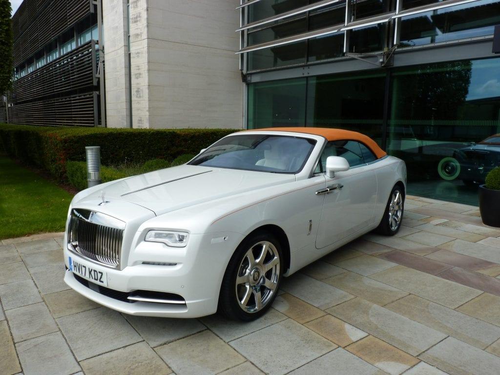 Rolls Royce Dawn Goodwood Showroom