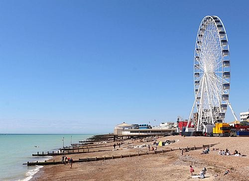 The WOW from Worthing Pier