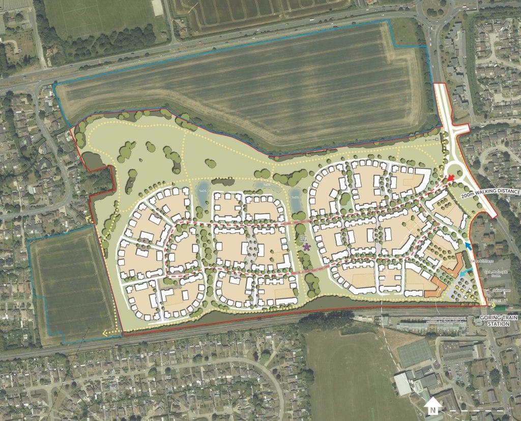 Goring Gap development plans refused by Worthing Planning Committee