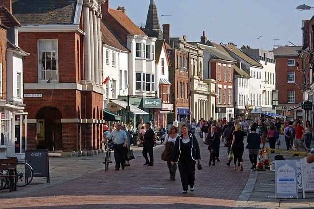 Chichester shopping