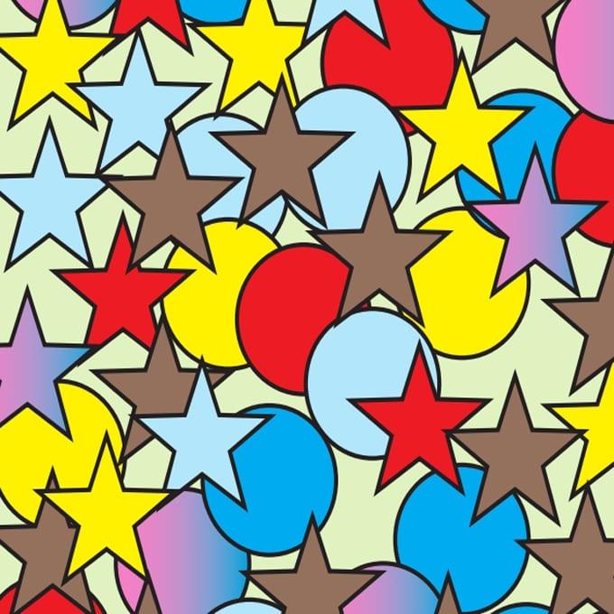 circles stars