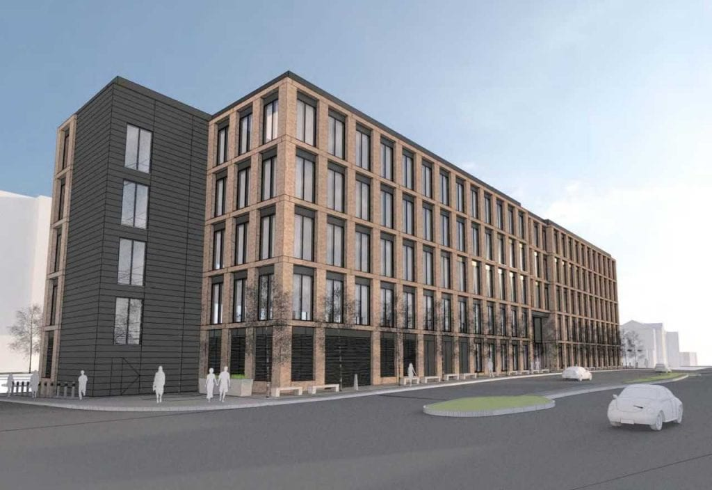 Visualisation of the new Teville Gate House Ltd.