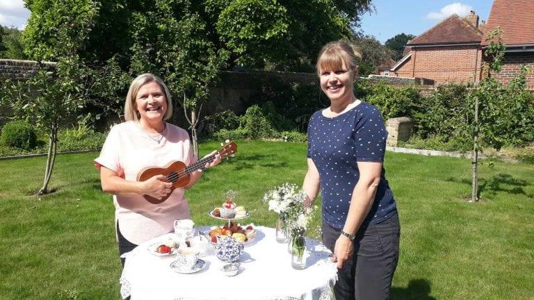 Summer garden party at SDNP