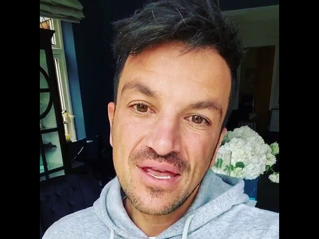 Peter Andre Patron of Chestnut Tree Children's Hospice