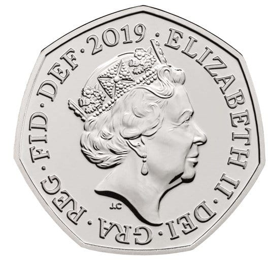 950th Anniversary Battle of Hastings 50p coin