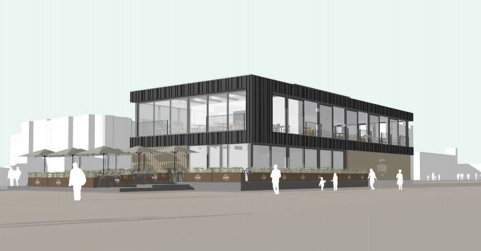 Restaurant plans for Worthing seafront