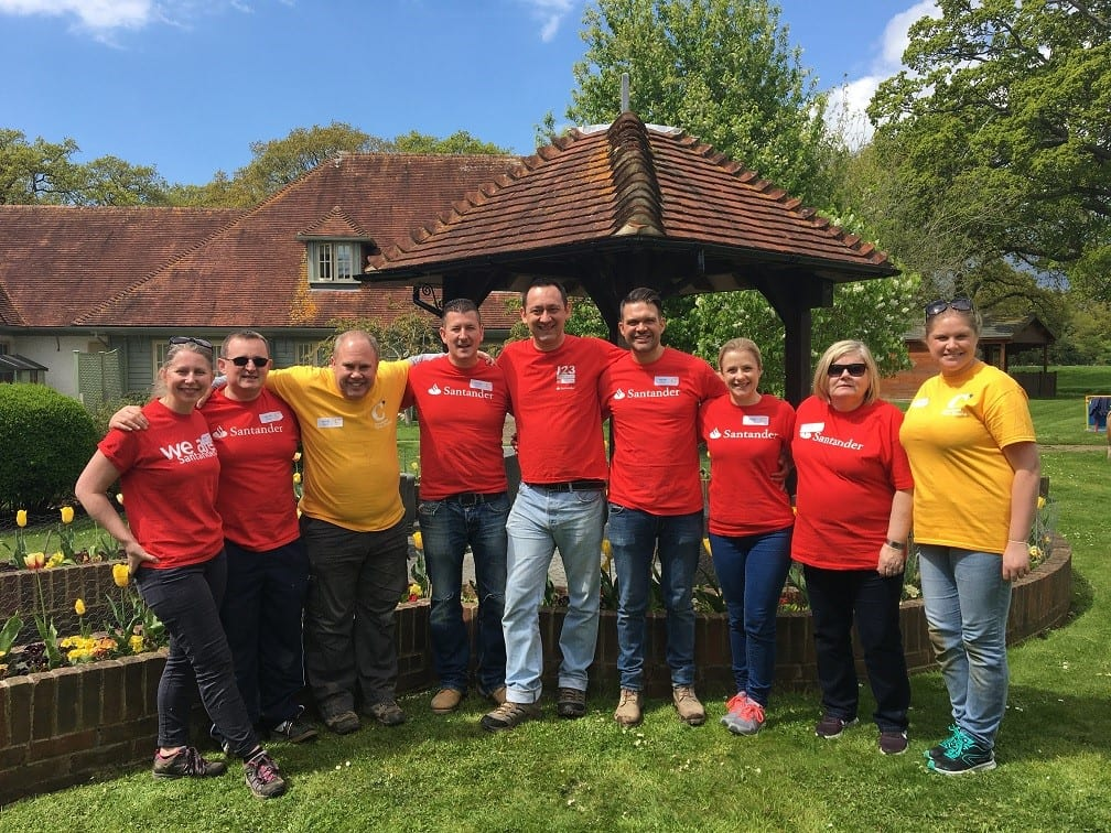 Santander_KennyTutt_volunteering_May2018