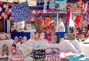 Caroline Pettett of Caroline Crafts sells handmade items