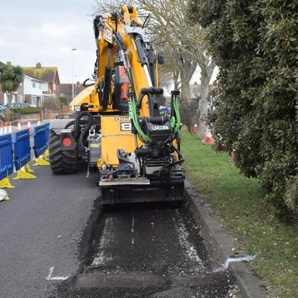JCB Pothole Pro in Sussex