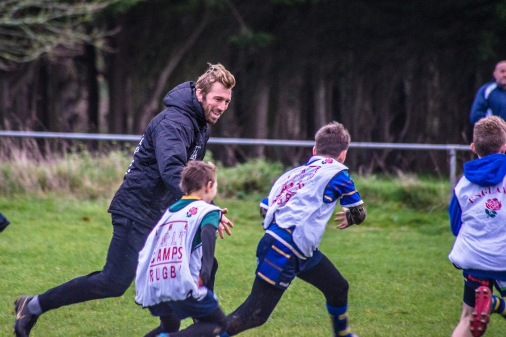 Chris Robshaw at The Only Camps
