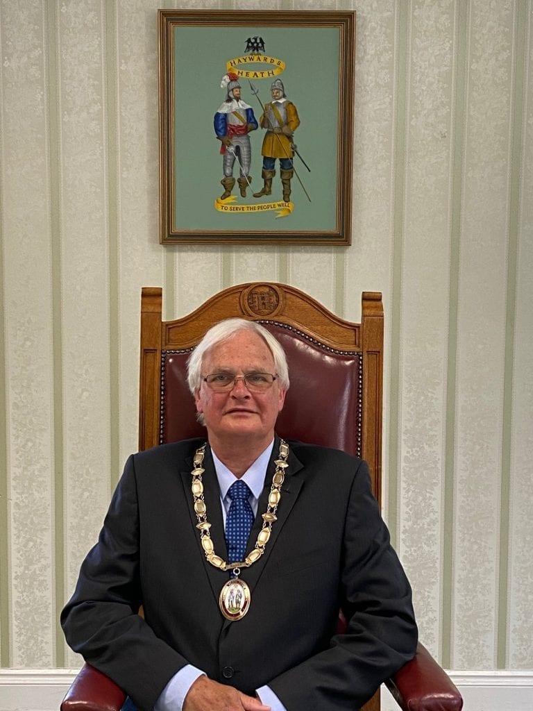 New Mayor of Haywards
