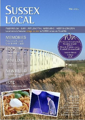 A recent issue of Sussex Local