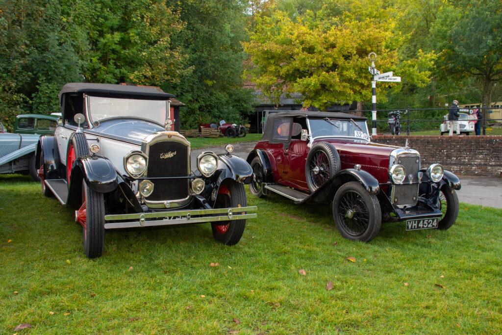 Autumn Gathering Historic Cars Amberley Museum
