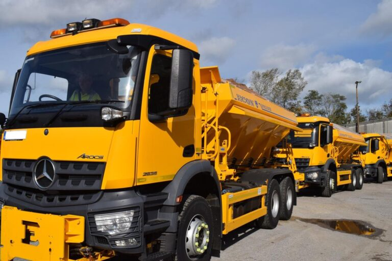 Making sure our fleet of gritters is winter ready